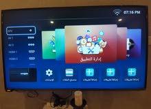 شاشة سوبرا 55 بوصة سمارتك 4k شبة جديد