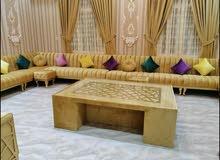 making new majlis, sofa,curtain. Repairing old sofa, majlis.