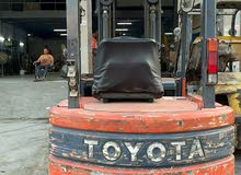 Toyota forklift 2.5 ton for rent and sale