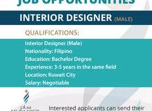 Architect Interior Designer (Male)