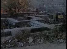 قطعة ركن زراعية المساحة 100 متر مربع  محافظة كربلاء منطقة البوبيات نهاية شارع الحداد قرب البزل