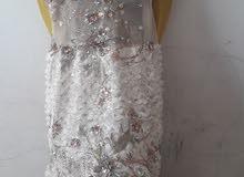 فستان سهرة بيج