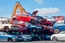 نشتري جميع انواع سيارات سكراب