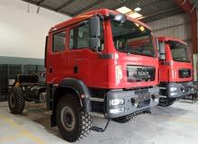 Brand new MAN 4X4 Truck Chassis-Double Cab-2020- الجديد / ألفين و عشرون