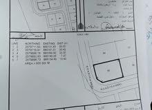 للبيع اوض سكنية العامرات سوبر كورنر جحلوت المرحله الأولى