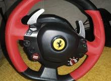 Xbox thurmaster Ferrari steering wheel