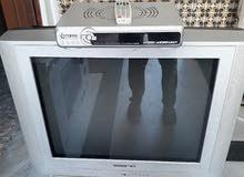 تلفزيون داو 29 بوصة بحالة جيدة للبيع مع ريسيفر ستار سات (يقبل الكرت)