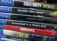 مجموعة ألعاب بلايستيشن 4 للبيع PS4 Games