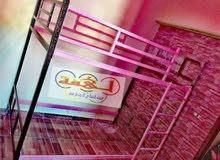 سرير حديد دورين والضمان مدي الحياة للحجز 01284668868