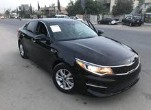 Black Kia Optima 2016 for sale