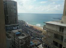 شقة مفروشة من المالك بسيدى بشر ش خالد بن الوليد ترى البحر مكيفة 2 حمام 2 اسانسير نظيفة جدا