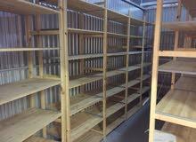 بيع رفوف خشب من ايكيا مستعملة بحالة ممتازة كانت الستخدام ملفات ارشيفية