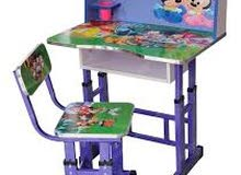 مكاتب دروج مقاعد دراسيه اطفال معدنيه
