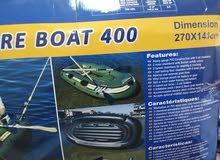 قارب تجديف ويركبله ماطور