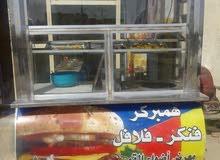 مطعم للاكلات السريعة للبيع او غراض المطعم للبيع