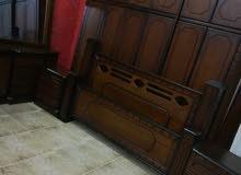 غرفة نوم ماستر طابقين خشب لاتيه قشرة بلوط شبه