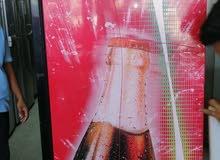 ثلاجه باب زجاجي للبيع في قمة النظاقة وقوة التبريد