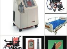 أجهزة تنفس اكسيجين- سرير طبي- كراسي مقعدين -بيع وتأجير