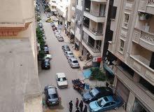 شقة للبيع 175م بشارع متفرع من ش ابوقير