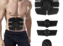 جهاز تخسيس المعدة و بناء العضلات 3 قطع  SMART FITNESS EMS