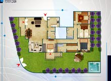 apartment Ground Floor in Giza for sale - Sheikh Zayed