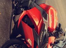 Used Kawasaki motorbike up for sale in Amman