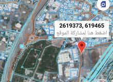 للبيع ارض سكني تجاري بالسيب مقابل مركز العامري