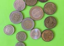 نقود معدنية لمصر وتركيا