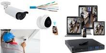 صيانة وتركيب كاميرات المراقبة للمنازل والشركات والمحلات