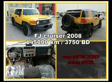 Toyota FJ cruiser 2008 model for sale