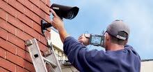 مهندس تركيب كاميرات مراقبة.
