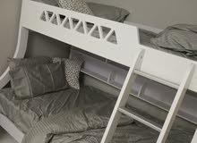سرير طابقين  مع المراتب