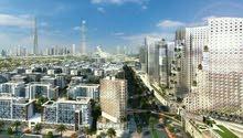 تملك وحدة سكنية فخمه بموقع متميز مطل علي برج الخليفة بمدينة محمد بن راشد