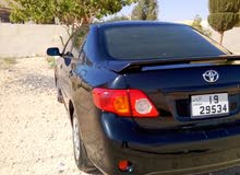Toyota Corolla car for sale 2010 in Mafraq city