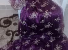 فستان (سهرة) شبه جديد للبيع