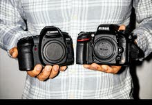 مطلوب كاميرا كانون او نيكون ارسل المواصفات على الواتس
