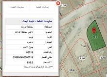 قطعه ارض تجاري في الزرقاء - ضاحية المدينة المنورة مساحة 633م على ثلاثة شوارع