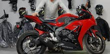 Honda motorbike made in 2015