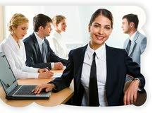 مطلوب موظفة في مجال التسويق التشطيب والمقاولات موظفة نسائي