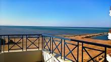 شقة117م استلام على البحر مباشرة بشاطىء خاص تقسيط استلام بعد شهرين