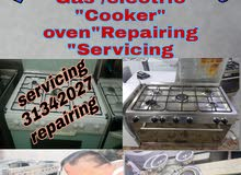Any type Gas and Electic cooker servicing repairing clearing
