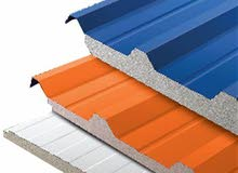 sandwich panel 100 AED include fixing