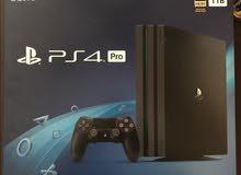 للبيع Playstation 4 pro مستخدم