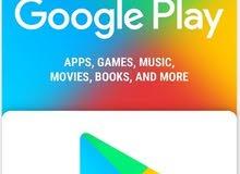 Google Play Gift Card بطاقات جوجول بلاي