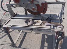 USED Tiles Electric wet cutter Australia made مستعمل منشار كهربائي بلاط  للبيع