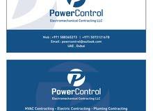 Powercontrol MEP works
