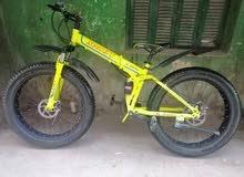 عجلة fat bike مقاس 26 كسر زيرو جديدة بحالتها