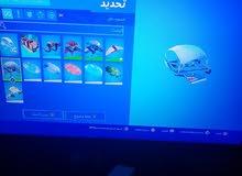 حساب فورت نايت للبيع نادر فيه مظلة القرش