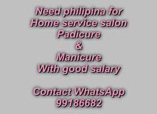 need workers for home service salon