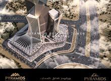 أكبر مبنى إدارى تجارى فى العاصمة الإدارية